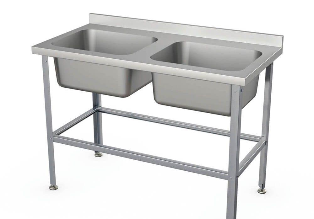 Ванна моечная 2-секционная