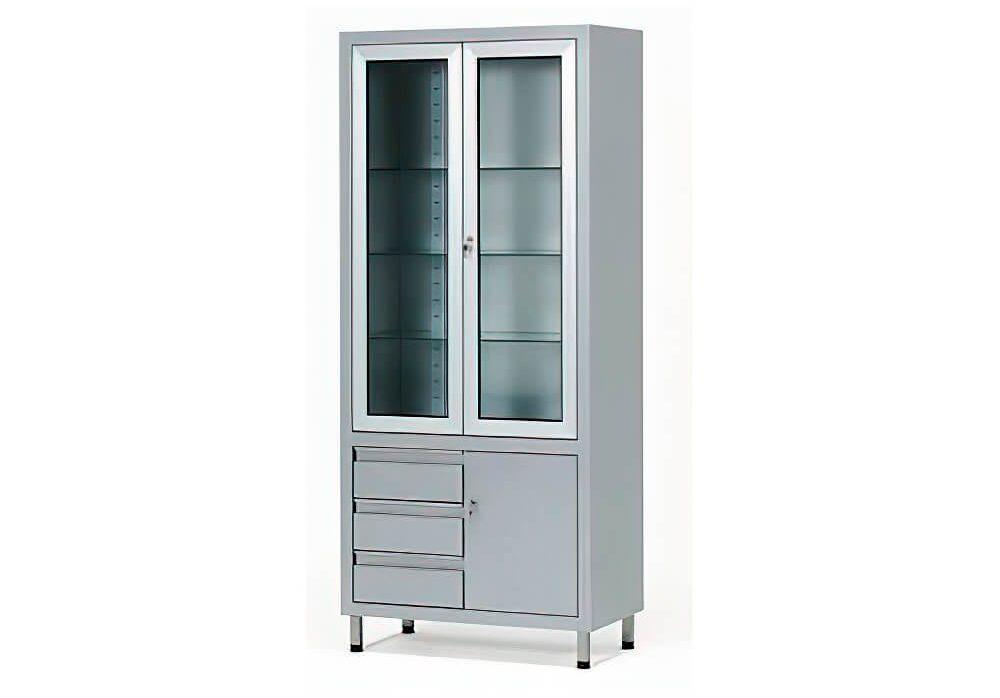 Медицинский металлический шкаф